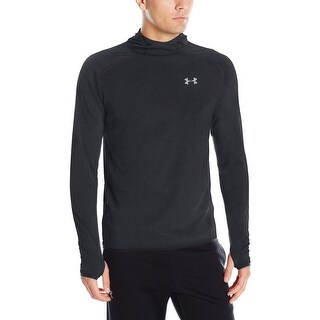 Under Armour NEW Black Men's Size XL Seamless Hooded Athletic Top