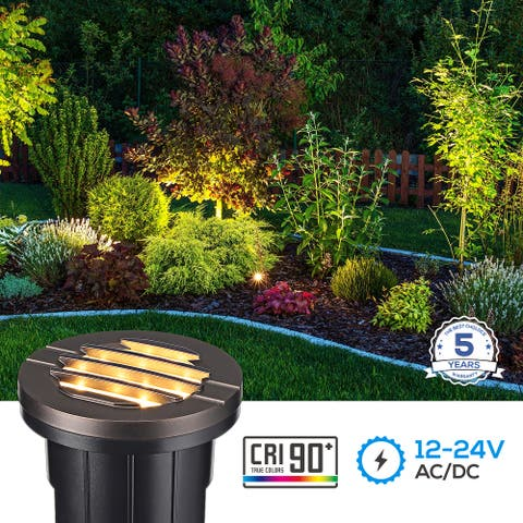 Landscape 6W Grill Top Well Light Low Voltage 3000K Warm White