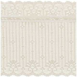 """Combo Lace 5-1/2""""X12yd-Natural"""