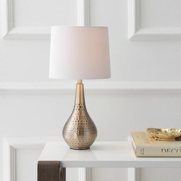 Safavieh Lighting 19 Inch Medford Led Table Lamp 10 X10 X18 75 Overstock 22256147