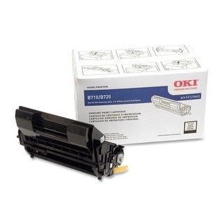 OKI 52123602 Oki High Capacity Toner Cartridge - Black - LED - 20000 Page - 1 Each