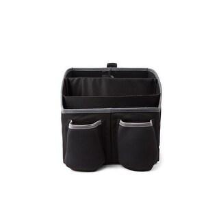 Cargo Travel Organizer on Seat or Floor, Black & Gray