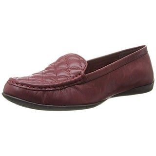 Bella Vita Womens Mercedes Quilted Leather Loafers - 6 medium (b,m)