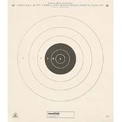 Champion Shooting Targets 50 ft. Timed and Rapid Fire (12 pack)
