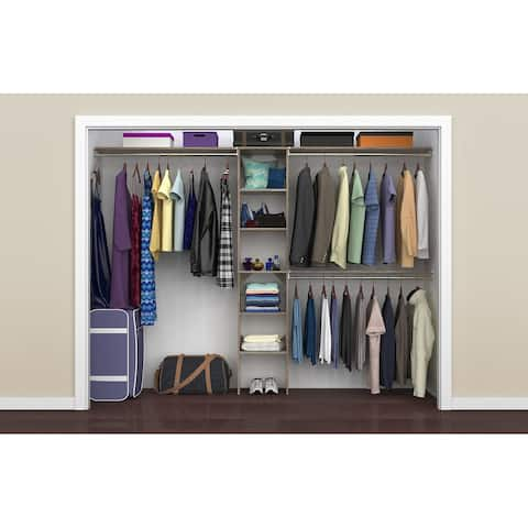 ClosetMaid SuiteSymphony 16-inch Tower Closet Organizer with Hang Rods