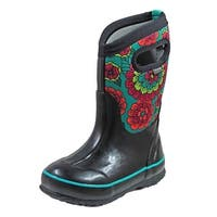 Bogs Outdoor Boot Girl Classic Pansies Waterproof Insulated
