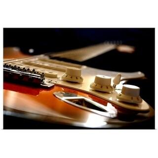 """Electric Guitar close up"" Poster Print"