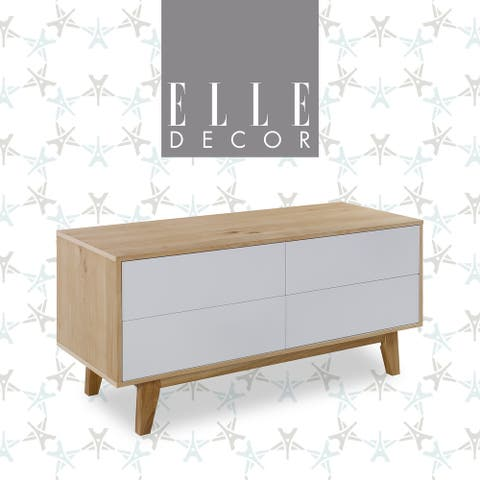 Elle Decor Giselle Sideboard French Oak
