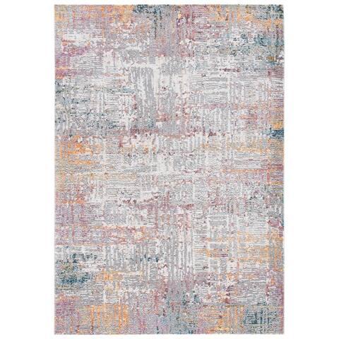 Safavieh Crystal Jarlfrid Modern Abstract Distressed Rug