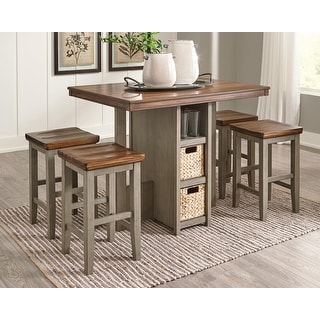 Link to Lettner Rectangular Dining Room Counter Table Set of 5 Similar Items in Dining Room & Bar Furniture