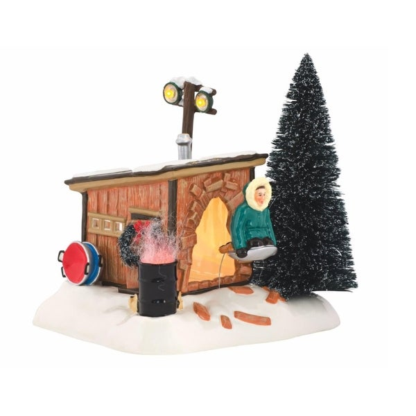 "Department 56 National Lampoon's Christmas Vacation ""Griswold Sled Shack"" Lighted Building #4042408"