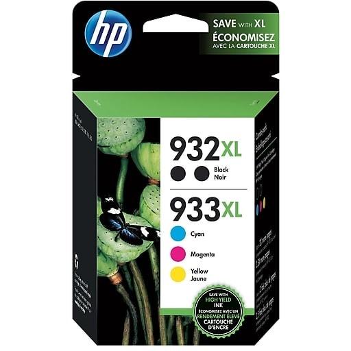 HP 933XL CMY/932XL Black Multi-pack High Yield N9H69FN