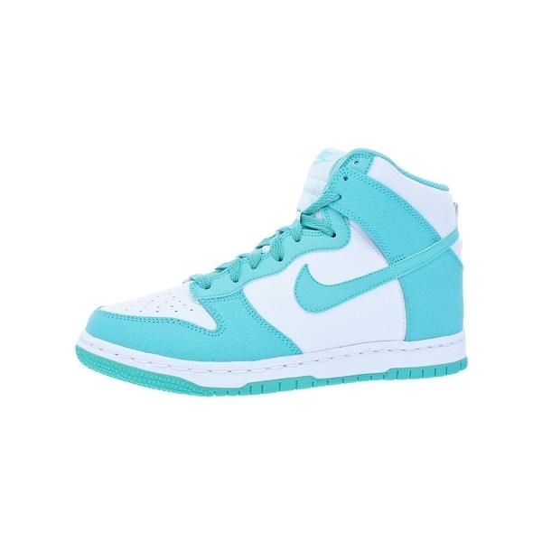 c0d563839c Shop Nike Girls Dunk High Basketball Shoes Big Kid Retro - 7 medium ...