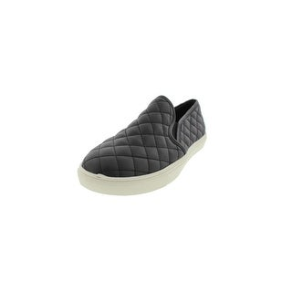 Steve Madden Womens Ecentrcq Loafers Faux Leather Quilted