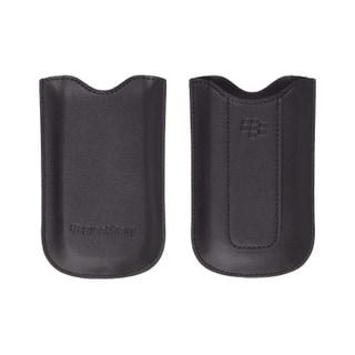 OEM BlackBerry 8120, 8130, 8110 Leather Pocket, Black