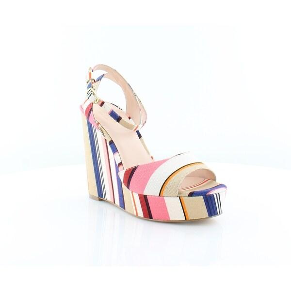 Kate Spade Dellie Women's Sandals & Flip Flops Multi Color Berber Stripe - 8.5