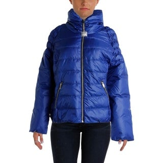 Big Chill Womens Plus Quilted Down Puffer Jacket - 1X