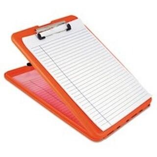 Saunders SlimMate Storage Clipboard, Safety Orange - 1.5 in.