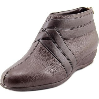 Trotters Latch W Round Toe Synthetic Bootie