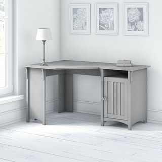 The Gray Barn Lowbridge Corner Desk with Storage