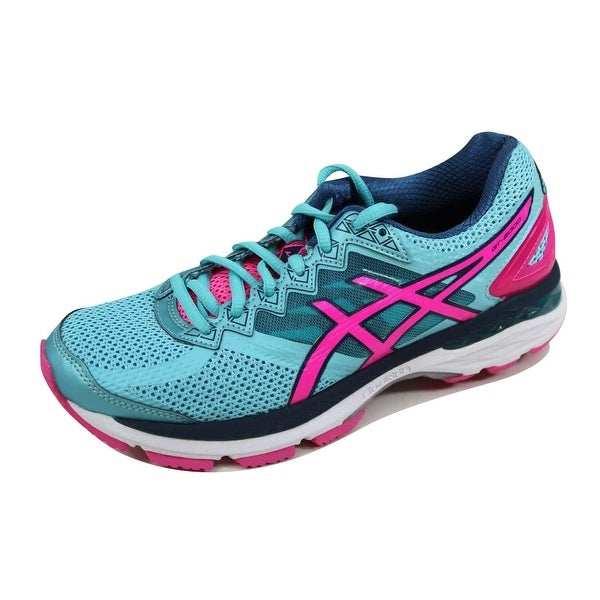 Asics Women's GT 2000 4 Turquoise/Hot Pink-Autumn Glory T656N 4034