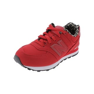 New Balance Girls Athletic Shoes Running Animal Print
