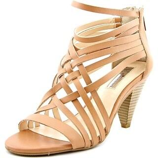 INC International Concepts Garoldd Open Toe Leather Sandals