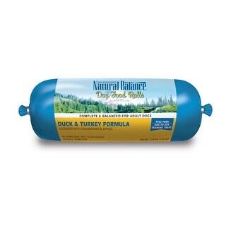Natural Balance Duck & Turkey Formula Dog Food Roll 2.25 lb
