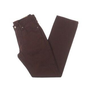 Levi's Mens 541 Straight Leg Jeans Regular Fit Mid-Rise