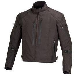 Men Motorcycle Textile Race Jacket CE Protection Black MBJ057