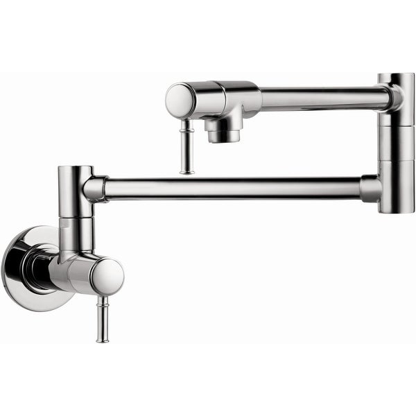 Hansgrohe 04218 Talis C Wall Mounted Double-Jointed Pot Filler
