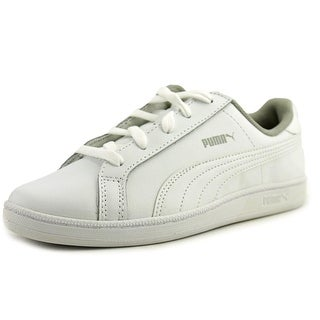 Puma Smash Fun L Ps Youth Round Toe Synthetic White Sneakers