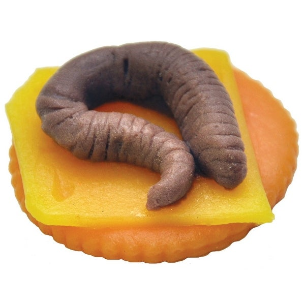 Worm Finger Food Halloween Decoration