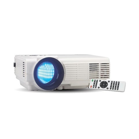 "RCA RPJ116 2000 LUMENS LED Projector 1080P HDMI up to 150"" Screen Manufacturer Refurbished"