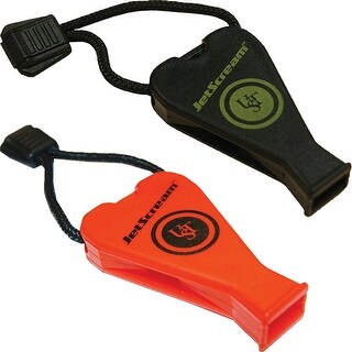 UST Jet Scream Durable Pealess Floating Whistle - One Size