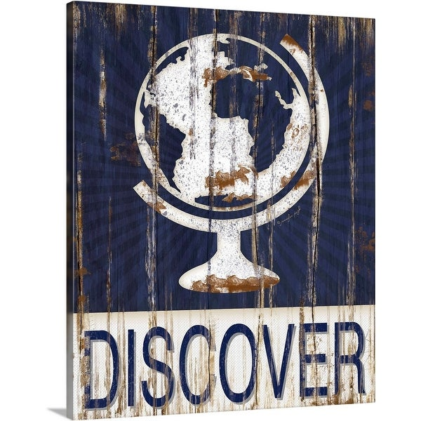 """""""Discover"""" Canvas Wall Art"""