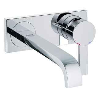 Grohe 19 387 A  Allure 1.2 GPM Wall Mounted Bathroom Faucet with SilkMove Technology - Starlight Chrome