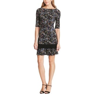 American Living Womens Wear to Work Dress Jersey Printed