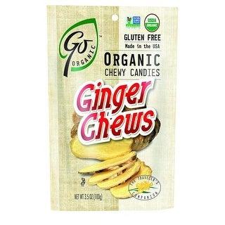 Go Organic - Ginger Chews ( 6 - 3.5 OZ)