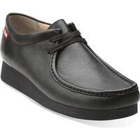 Clarks Men's Stinson Lo Black Leather