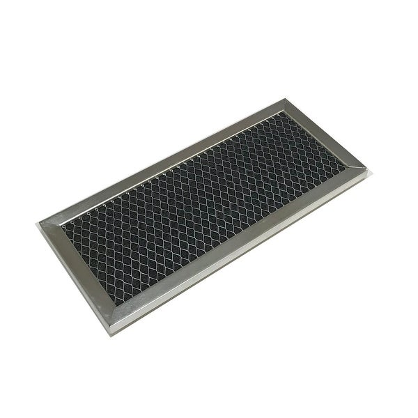 OEM GE Microwave Charcoal Air Filter Shipped with JVM2051WH001, JVM2070B. Opens flyout.