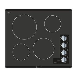 Bosch NEM546 23 Inch Wide Built-In Electric Cooktop with 2,200W Power Element