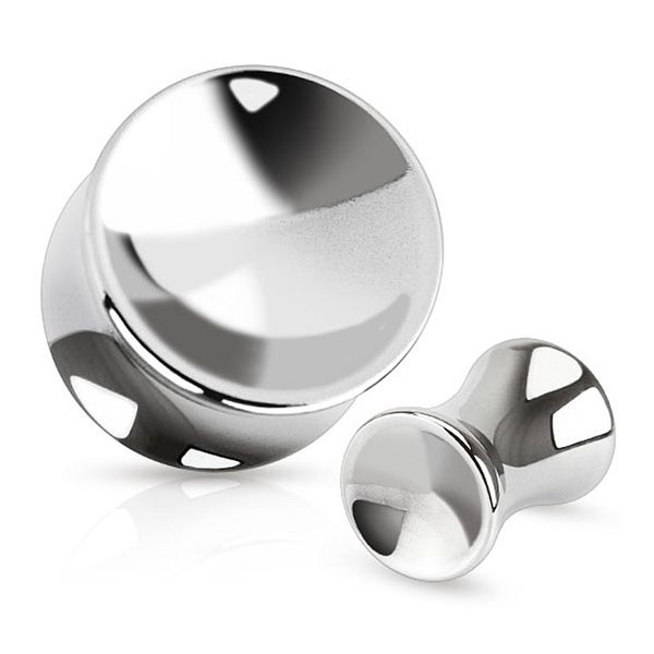 Concaved Circle Saddle Plug 316L Surgical Steel (Sold Individually)