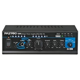 Pyle Audio PTAU45 Pyle PTAU45 Amplifier - 120 W RMS - USB