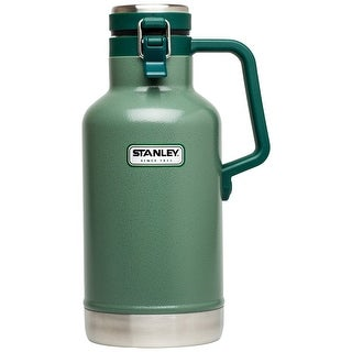 Stanley 10-01941-001 Bottle Vacuum Growler, Hammertone Green