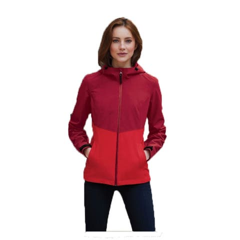 Women's Tech Rain Jacket Wind Resistant, Water Repellant