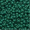 Czech Seed Beads 8/0 Grass Green Opaque (1 Ounce) - Thumbnail 0