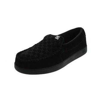 DC Mens Villain Slip-On Shoes Woven Moc-Toe - 10 medium (d)