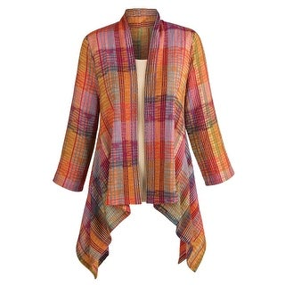 Women's Colorful Striped Cardigan Jacket