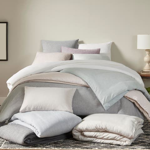 ED Ellen DeGeneres Dream Linen Blend Duvet Cover Or Shams